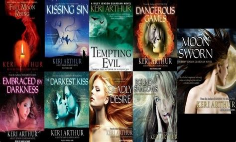 keri arthur riley jenson guardian series urban fantasy