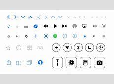Apple iOS icons PSD PSD Depot