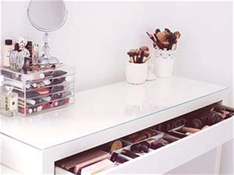 makeup desk ikea uk decora 231 227 o penteadeira just lia por lia camargo