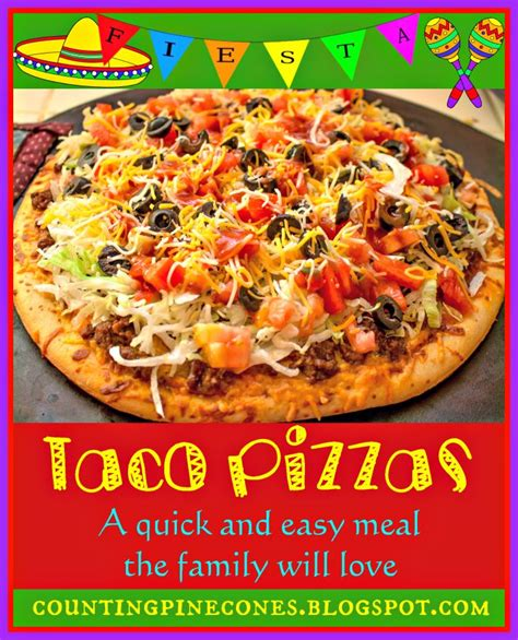 Homemade Taco Pizza Based On The Taco Pizza From Cicis