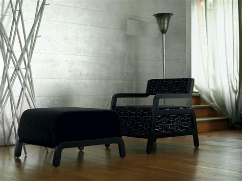 Poltrone Imbottite Design : Poltrona Imbottita In Faggio, Elegante E Originale