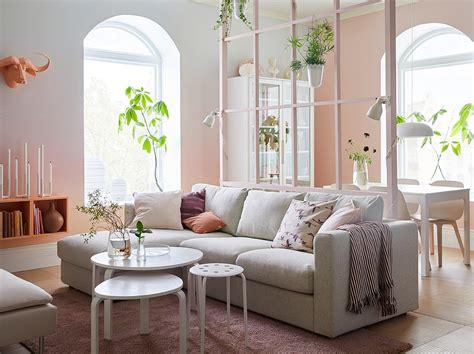 canapé en daim muebles de salón compra ikea