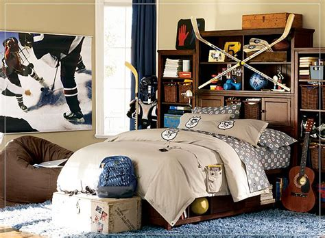 Sporty Bedrooms For Teen Boys  Design Dazzle