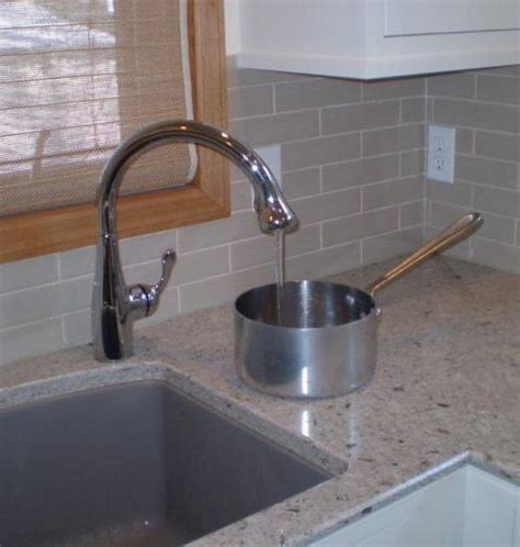 which side is water on a sink single hole faucet placement for undermount sinks