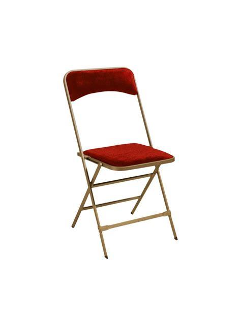 chaise pliante tissu attachable r 233 ception banquet