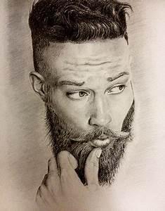 Portrait of a bearded man II on Behance