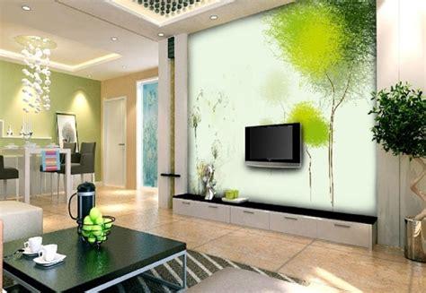 gruene deko wohnzimmer