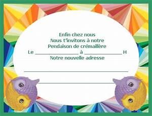 Pendaison De Crémaillère Invitation : invitation pendaison de cremaillere ~ Melissatoandfro.com Idées de Décoration