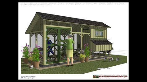 chicken coop plans chicken coop design