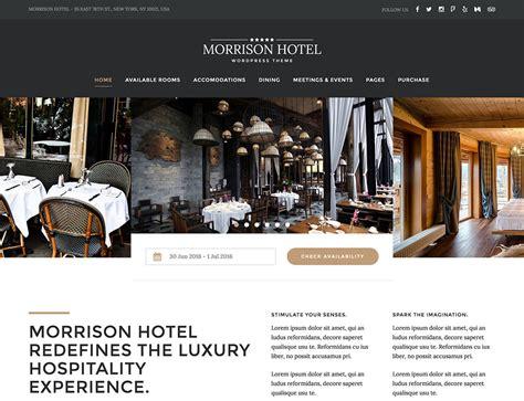 35+ Best Hotel Wordpress Themes 2019