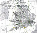 Ley lines, Map of britain, Unexplained mysteries