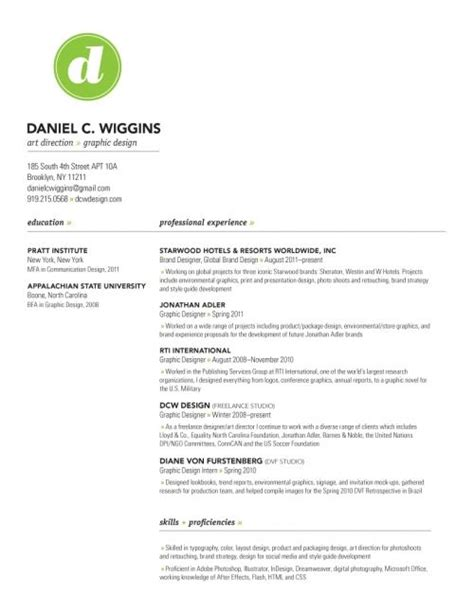 Graphic Design Resume Exles 2012 by 1000 Images About Resume Letterhead Design On