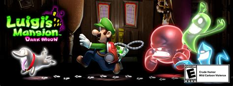 Luigis Mansion Dark Moon Official Site Launches Lots Of
