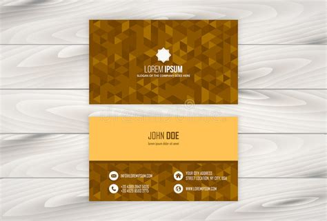 Geometric Business Card Design Template With Wooden Business Cards Campbelltown Nsw Card Models Free Downloads Windsor Moo Template Dartmouth Ns Inchecken Machine For Your Parkeren Amsterdam