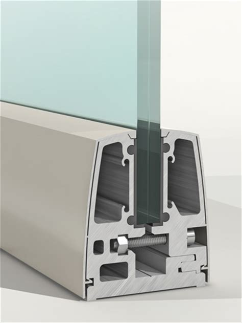 Crystaline aluminium glazing channel  SGP Glazing Channel