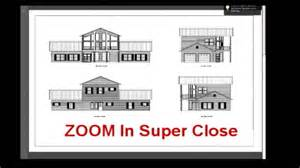 Barndominium Floor Plans 40 X 60 by Steel Building With Living Quarter Plans Youtube