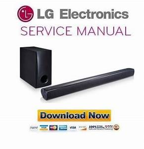 Lg Nb2540 Sound Bar Service Manual And Repair Guide