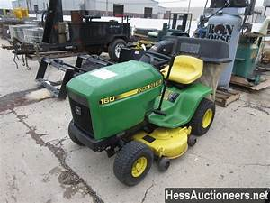 Used John Deere 160 Riding Mower For Sale In Pa  25782