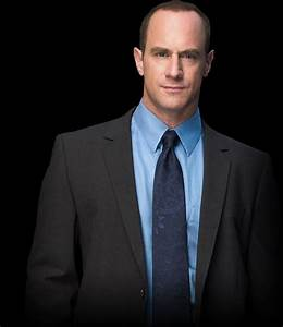 Det. Elliot Stabler played by Christopher Meloni ...