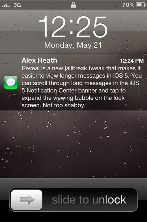 to lock messages on iphone reveal view longer messages inside banner and lock screen