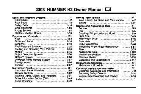 hummer  owners manual  give   damn manual