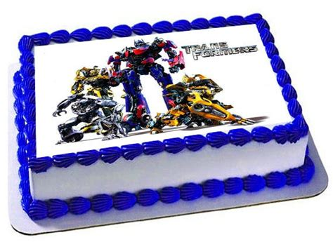 transformers cake topper transformers birthday party