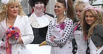 Coronation Street film the 80's themed wedding   Street ...