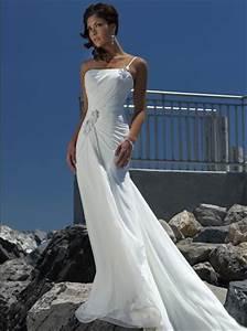 sexy beach wedding dresses 2015 strapless chiffon ivory With dresses for beach wedding