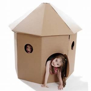 Cabane En Carton À Colorier : 20 cabanes pour jouer faire ou acheter cabane id es ~ Melissatoandfro.com Idées de Décoration