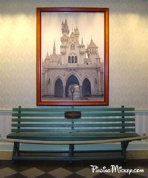 Walt Disney Bench by 60 Best Images About Disneyland Tidbits On