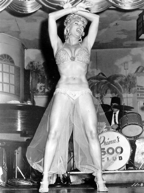 Burlesque Dancer Lilly Christine Performing At Leon Prima