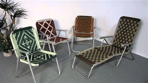 how to make a macrame seat for a chair