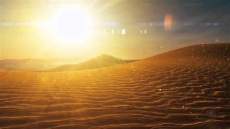 relaxing virtual desert animation sounds  visuals