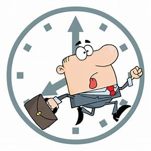 Be On Time Clipart