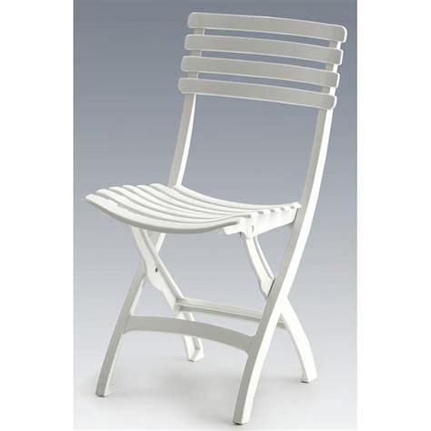 chaise de jardin blanche chaise pliante square blanc