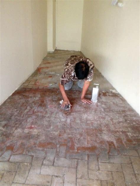 epoxy painting  floor tiles amk
