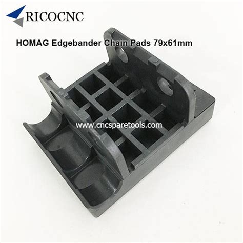 xmm homag edgebander track pads conveyor chain pads  brandt edgebanding machine