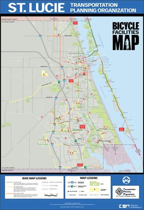 port st lucie bike map maplets