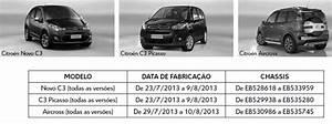 Recall Para Citroen C3 E Peugeot 208  Falha Na Suspens U00e3o