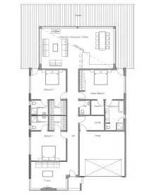 modern contemporary floor plans australian house plans modern house plan ch147