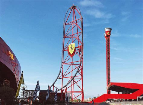 It's going to fast by the time it gets to the uphill that is… The Best Rides at Ferrari Land in Spain's PortAventura