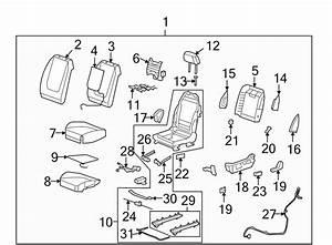 2008 Chevrolet Malibu Seat Cushion Pad  Driver Seat  2005
