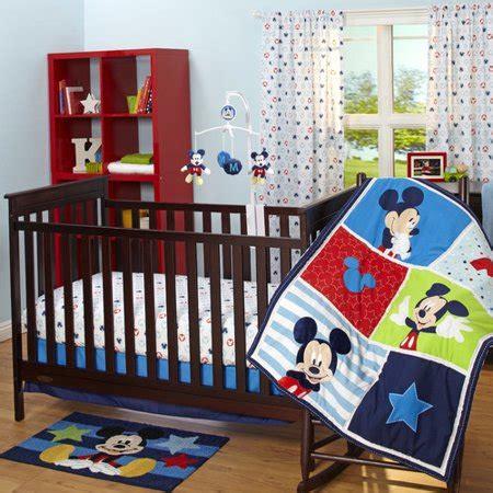 mickey mouse crib set disney mickey 3 crib set walmart