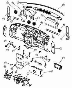 Jeep Liberty Bracket  Instrument Panel  Right  Bracket