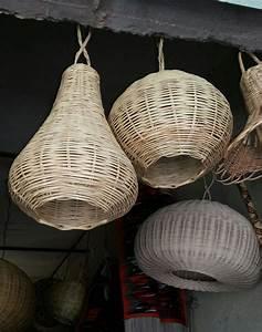 Suspension En Osier : suspensions en bambou naturelles rose des sables ~ Teatrodelosmanantiales.com Idées de Décoration