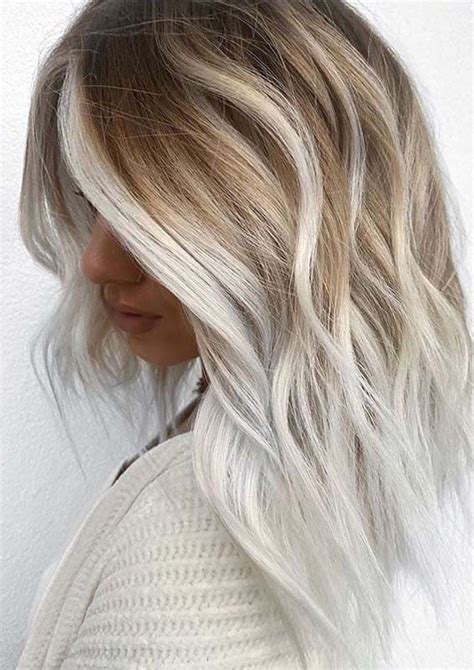 Beautiful Platinum Blonde Hair Color Ideas for Women 2020