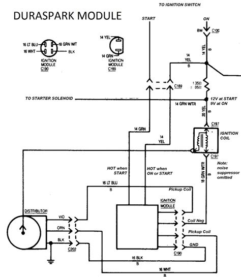 Dodge Ignition Module With Duraspark Page Ford