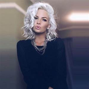 25 Best Ideas About White Hair On Pinterest Loose Curls
