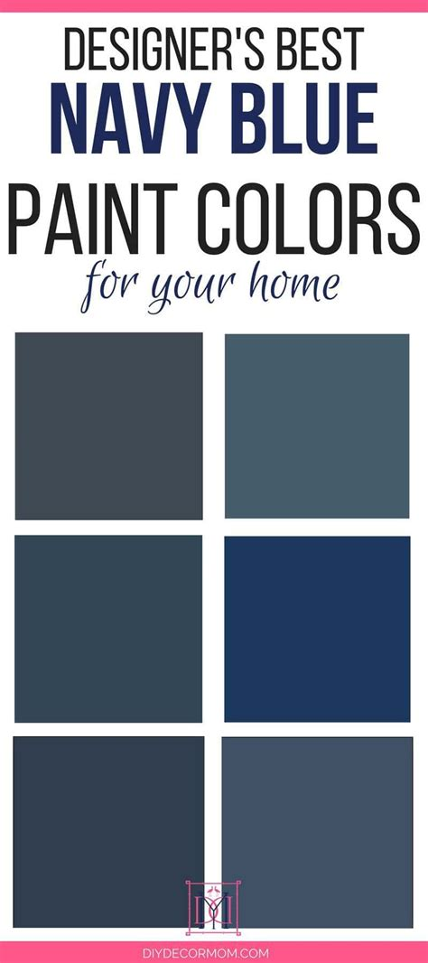 best navy paint colors designers 6 failproof paint colors