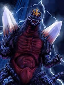 Space Godzilla Fan Art